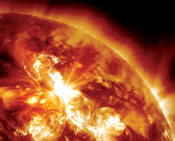 ribut solar