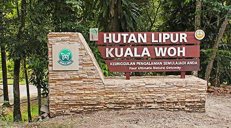 Papan Tanda Kuala Woh