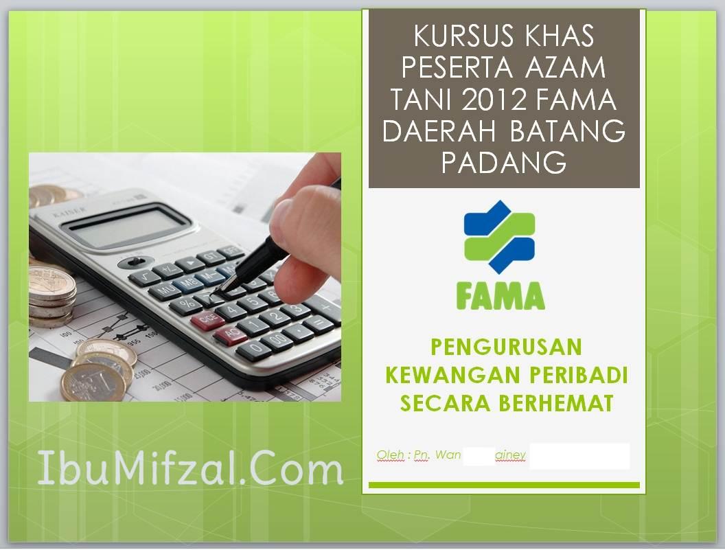 Pengurusan kewangan peribadi secara berhemah