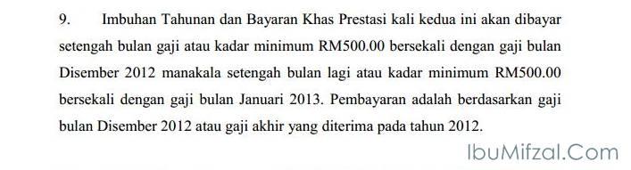 bonus 2012