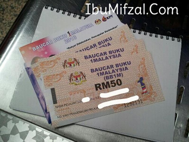 baucar buku 1 malaysia 2013