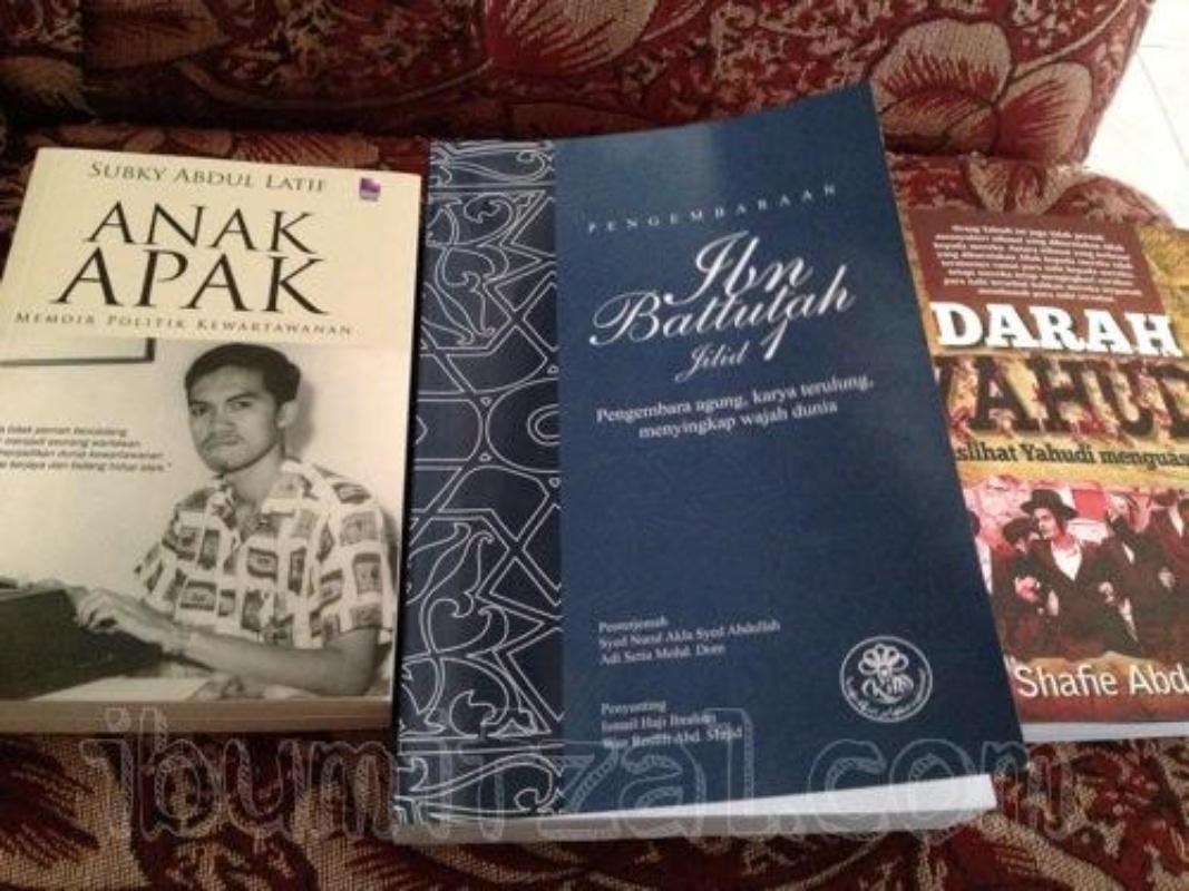 koleksi buku ibu mifzal