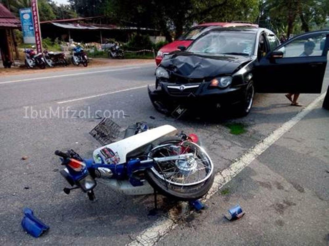 Kemalangan kereta & motosikal