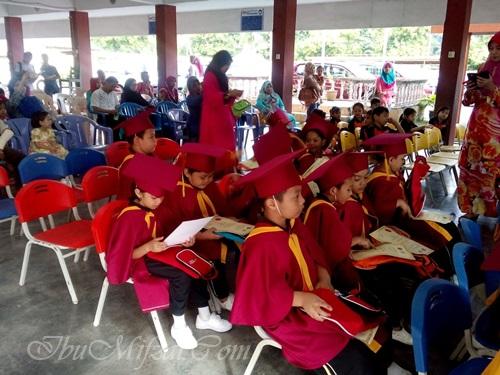 mifzal dan konvokesyen pra sekolah