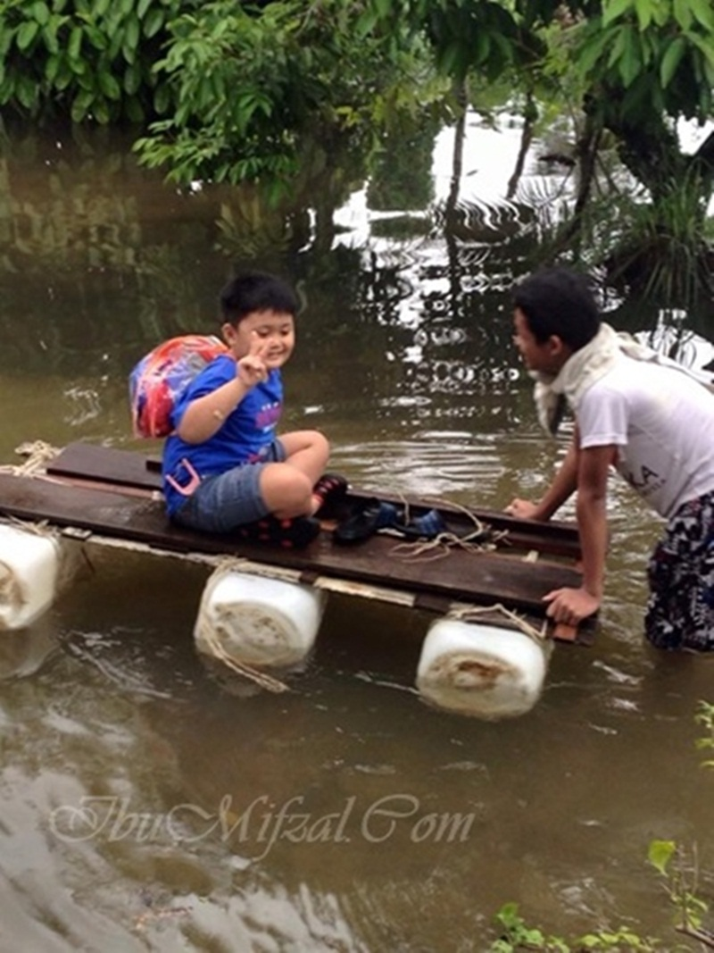 pengalaman banjir