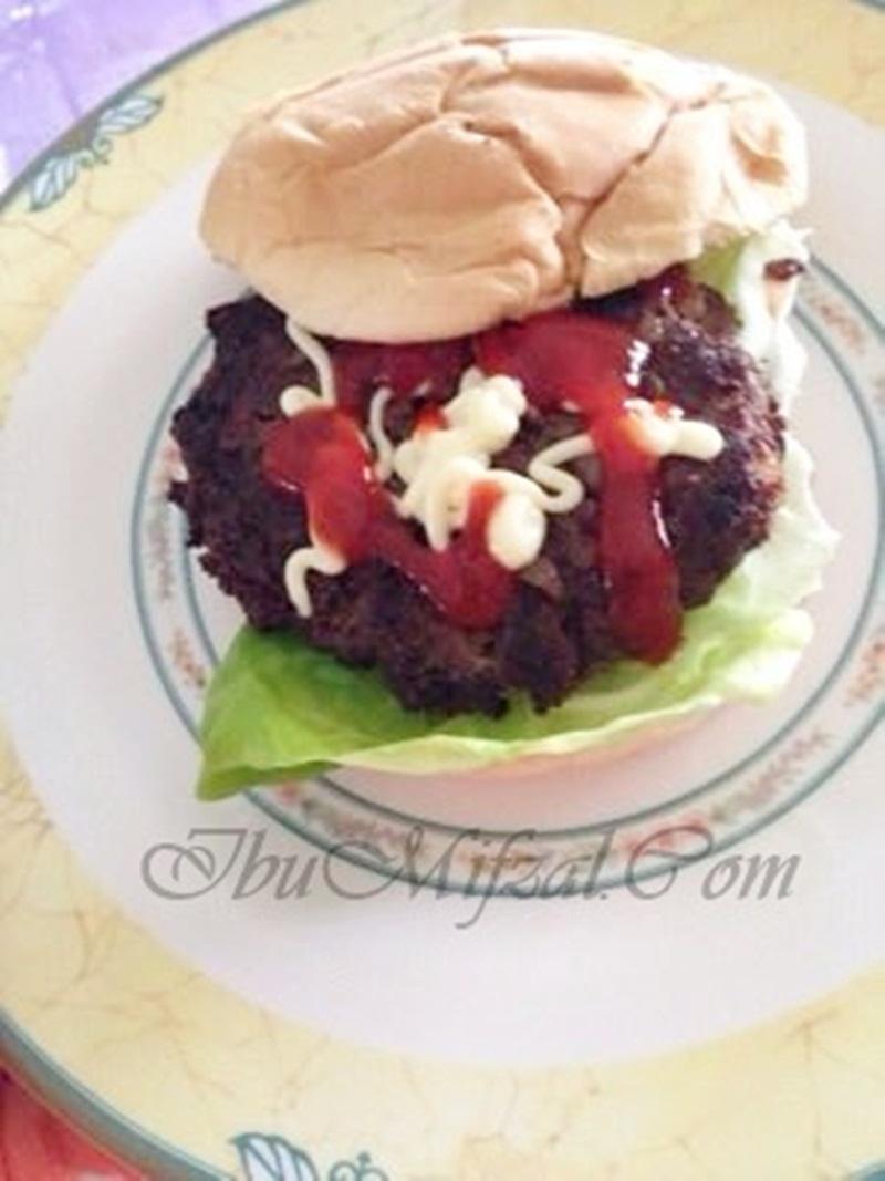 resipi burger