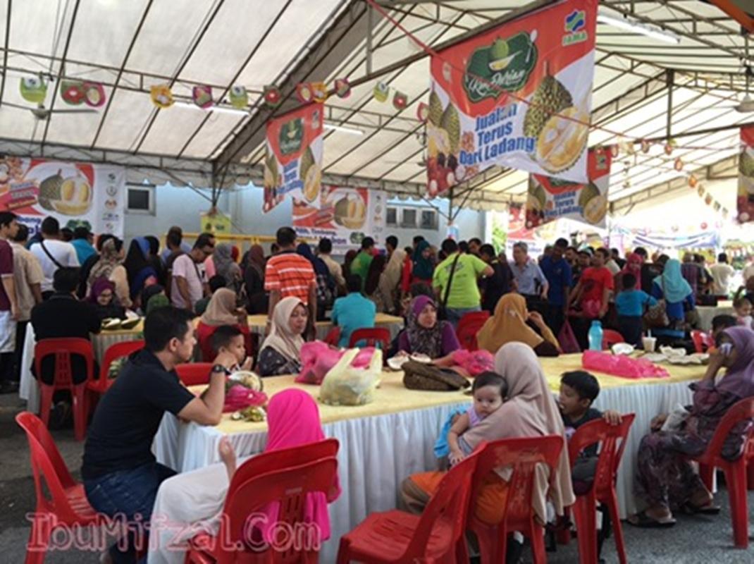 kemeriah di fiesta durian RTC Gopeng