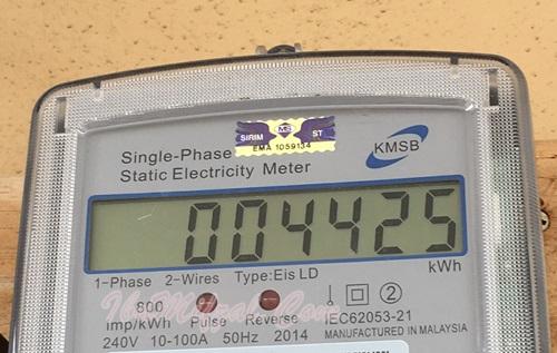 gambar meter digital elektrik TNB