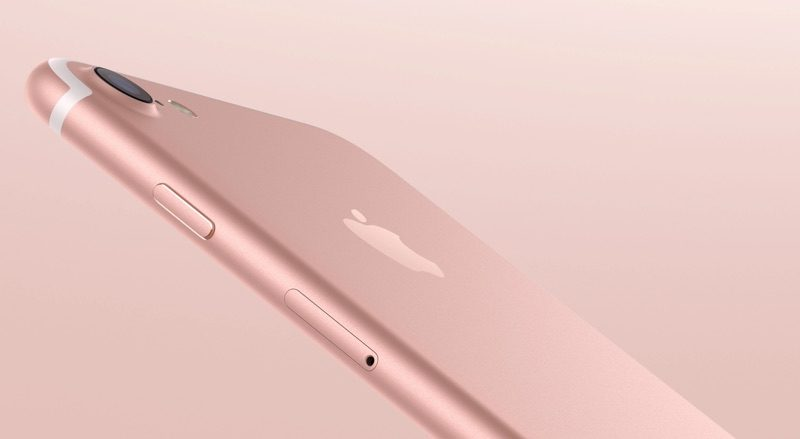gambar iphone 7 rose gold