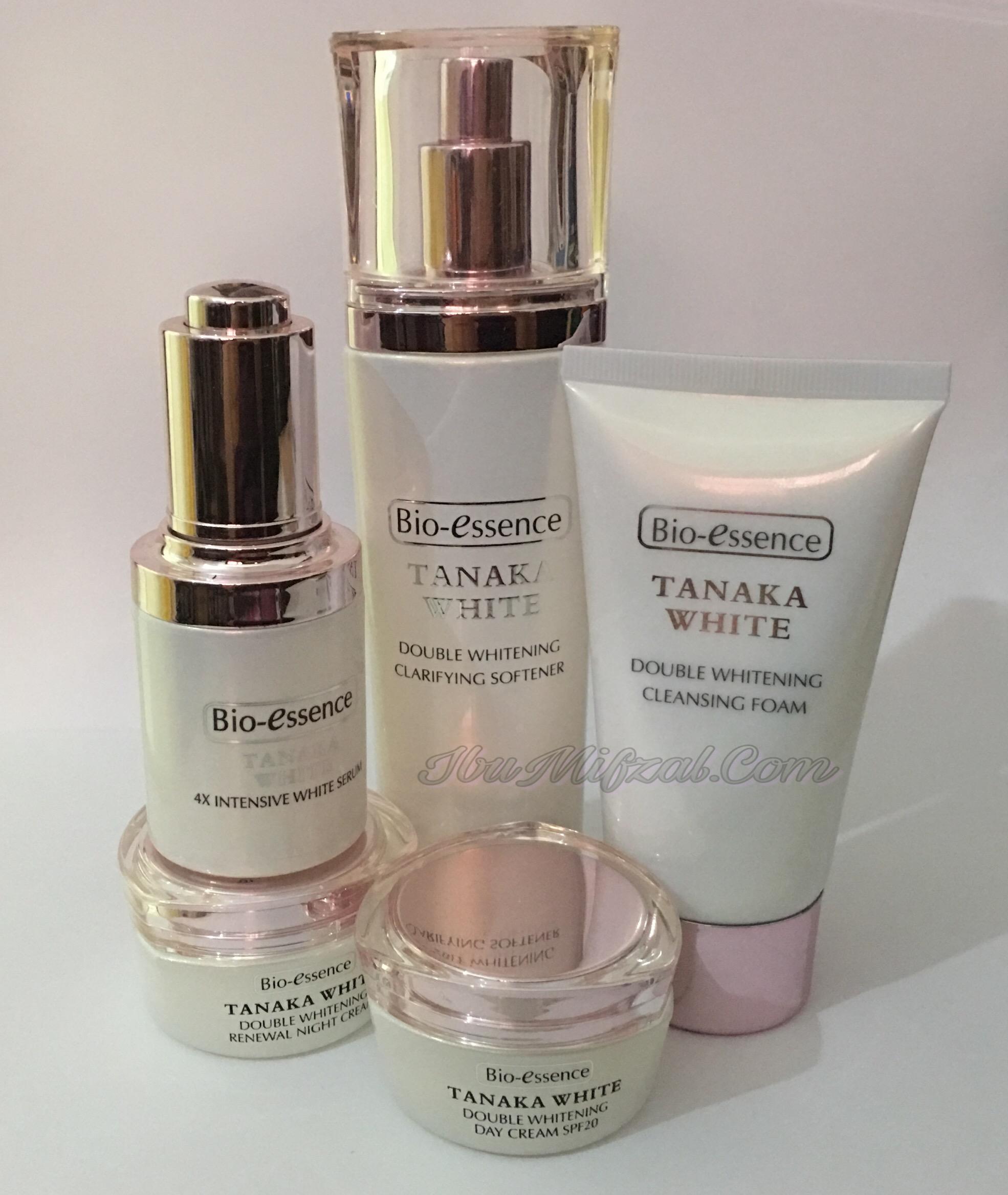 Pengalaman Menggunakan Produk Bio Essence Tanaka White (Double Whitening)