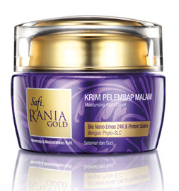 Krim Pelembap Malam / Mosturizing Night Cream
