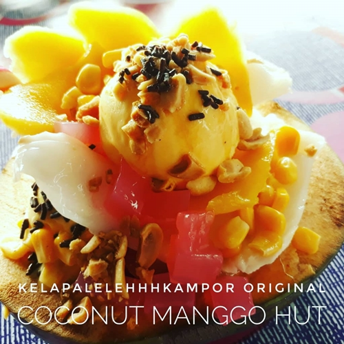 kelapa leleh kampo di 4F (Fruit, Flower, Food Fiesta)